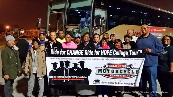 World of Soul Motorcycle Community Takes Lead on College Tours