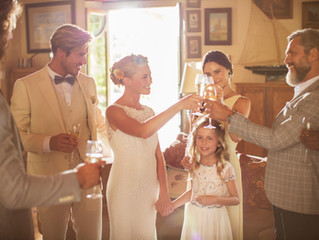 Wedding Tip of the Week: The Best Time To Do Your Toast Is Before Dinner
