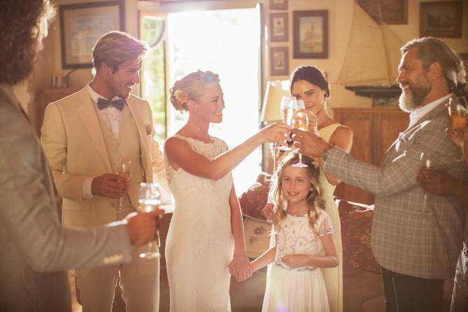 I bambini al matrimonio