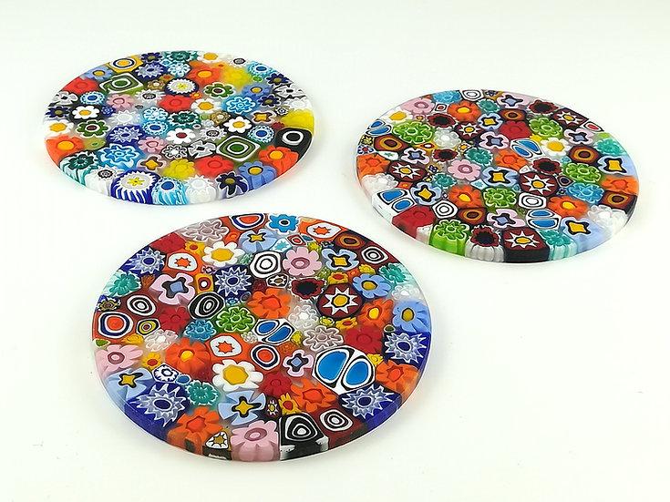 Sottobicchieri multicolore