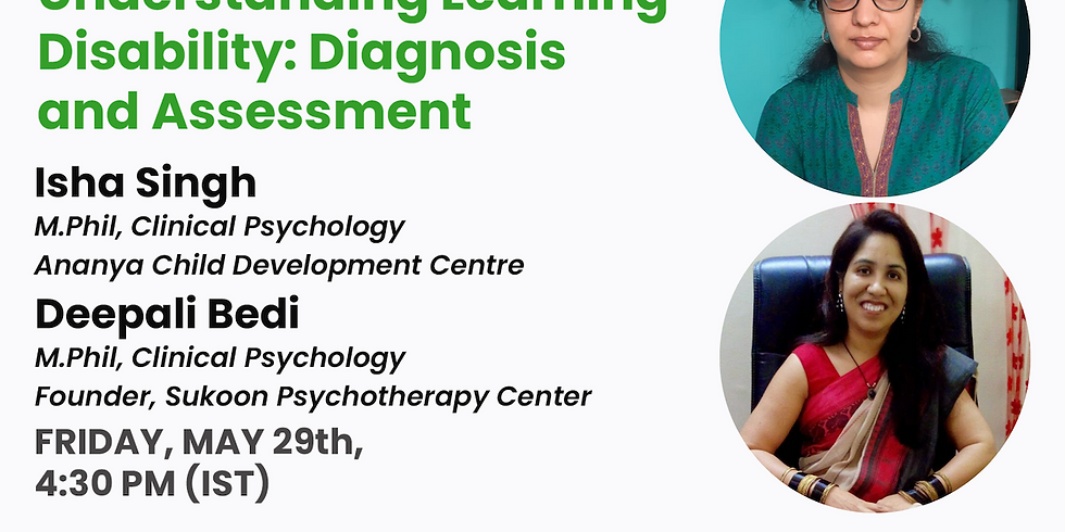 Understanding Learning Disability: Diagnosis and Assessment
