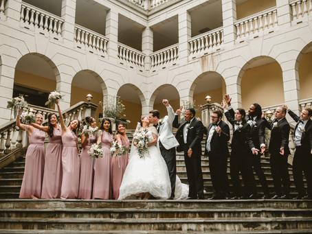 TRACY + DAVID // ROMANTIC WEDDING IN AIRLIE, VIRGINIA