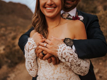 MARTA + AARON // SAGUARO NATIONAL PARK INTIMATE ELOPEMENT // TUCSON WEDDING PHOTOGRAPHER