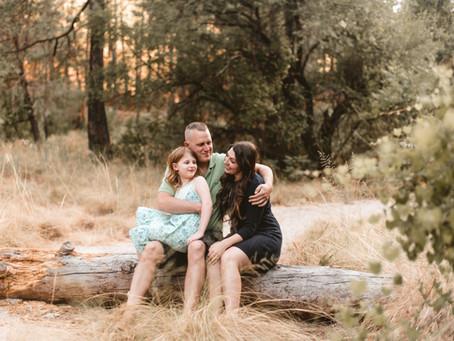 ASHLEY + CLINT // FAMILY ENGAGEMENTS ON MOUNT LEMMON