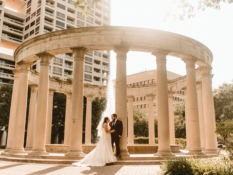 MARIA + KURT // WEDDING BRIDALS IN DOWNTOWN HOUSTON, HERMANN PARK // HOUSTON WEDDING PHOTOGRAPHER