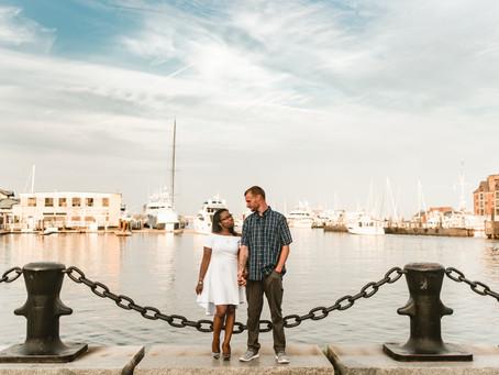 CHRISTELLE + MICHAEL // BOSTON HARBOR ENGAGEMENT SESSION // MASSACHUSETTS WEDDING PHOTOGRAPHER