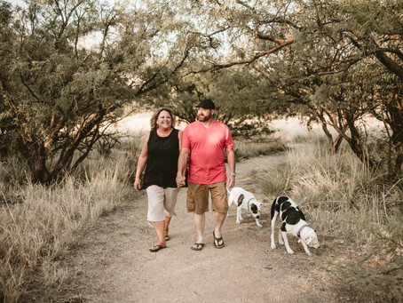 BETSY + GIL // COUPLE'S SESSION WITH FURRY FRIENDS