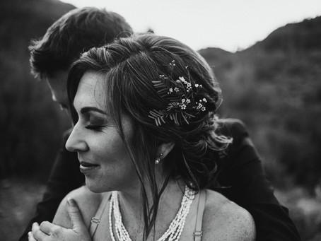 ARIANE + SETH // ALTERNATIVE DESERT WEDDING IN TUCSON