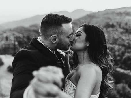 TANYA + ALEX // WEDDING PORTRAITS ON MOUNT LEMMON // TUCSON WEDDING PHOTOGRAPHER