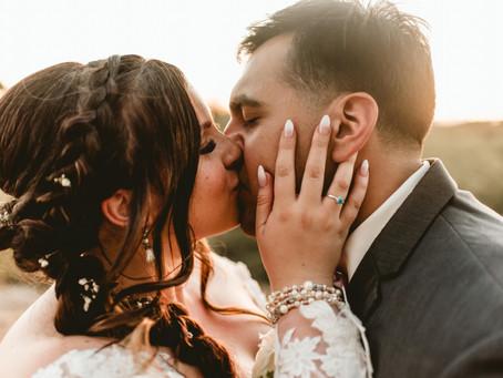 KENDALL + ALEXIS // ROMANTIC SUNSET WEDDING AT ST. ANNS // TUCSON WEDDING PHOTOGRAPHER