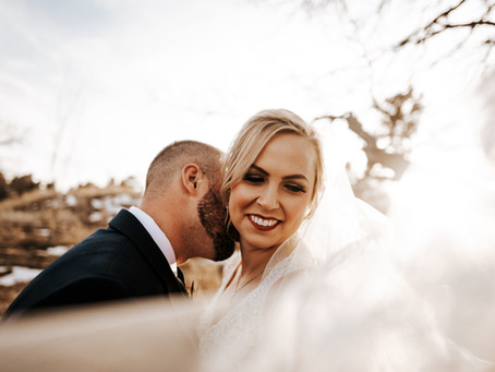 RACHEL + BRETT // DREAMY WINTER WEDDING IN COLORADO SPRINGS // COLORADO WEDDING PHOTOGRAPHER