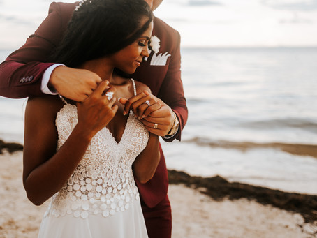 FELECIA + RICHIE // TROPICAL DREAMS RIVIERA DESTINATION WEDDING IN MEXICO // CANCUN WEDDING PHOTOGRA