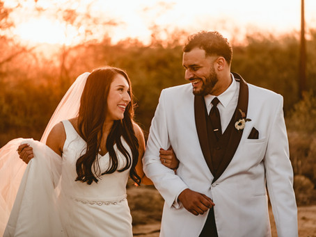 IRENE + MYLES // ROMANTIC SAGUARO BUTTES WEDDING // TUCSON WEDDING PHOTOGRAPHER
