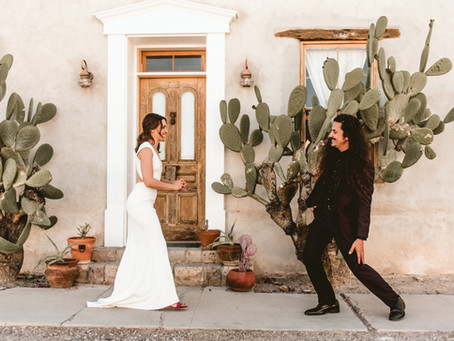 DANI + MARCUS // MODERN GARDEN WEDDING AT KINGAN GARDENS TUCSON