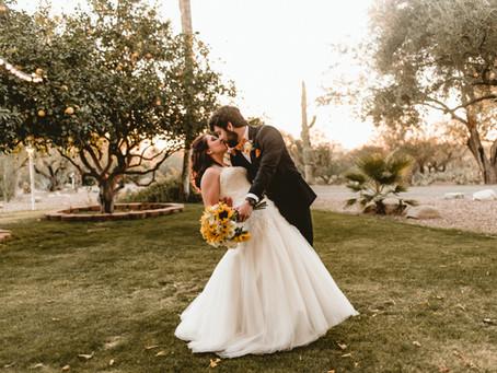 RILEY + KIRK // GORGEOUS SUNFLOWER WEDDING IN TUCSON