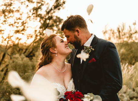 BRIANNA + PATRICK // EMOTIONAL SUNSET WEDDING AT EL CONQUISTADOR RESORT // TUCSON WEDDING PHOTOGRAPH