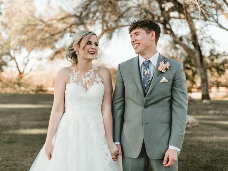 BRITTANY + ALEC // PASTEL TUCSON WEDDING