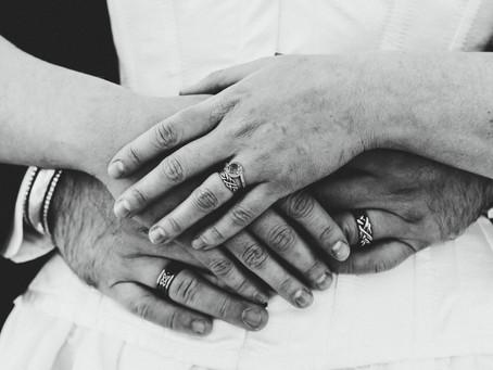 OLIVIA + TIM // INTIMATE MOUNT LEMMON WEDDING