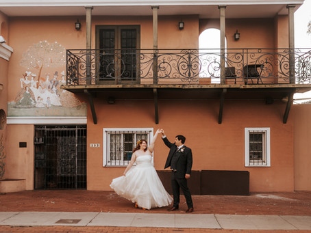 ELYSSA + RICHARD // COLORFUL FALL DOWNTOWN WEDDING AT BATES MANSION // TUCSON WEDDING PHOTOGRAPHER