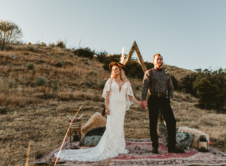 EMMA + TYLER // BOHEMIAN WEDDING INSPIRATION IN SONOITA // TUCSON WEDDING PHOTOGRAPHER