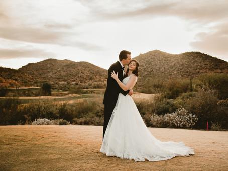 GABBY + KEN // LOVELY GOLF COURSE WEDDING IN TUCSON, AZ