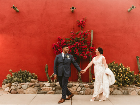 MELISSA + DAVID // DOWNTOWN TUCSON WEDDING AT Z MANSION