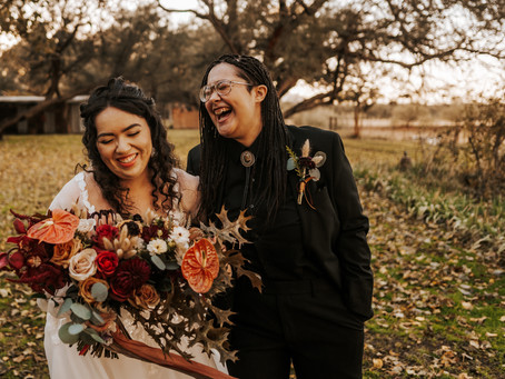 SARAH + DANA // INTIMATE TUCSON ELOPEMENT AT AGUA LINDA FARM // ARIZONA WEDDING PHOTOGRAPHER