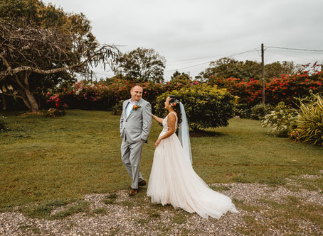 NOELLE + JOEY // TROPICAL DESTINATION WEDDING AT BORGHINVILLA VENUE // JAMAICA WEDDING PHOTOGRAPHER