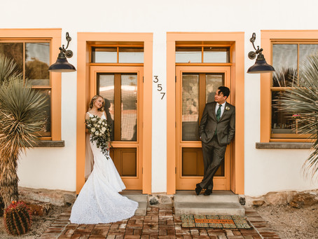 MORGAN + HIRÁM // CHEERFUL TUCSON WEDDING AT SITE 17 // TUCSON WEDDING PHOTOGRAPHER