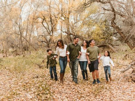 THE ARGUELLO FAMILY// FALL FAMILY SESSION AT CIENEGA CREEK // TUCSON FAMILY PHOTOGRAPHER