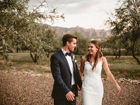 CHELSEA + TREVOR // BACKYARD WEDDING IN TUCSON