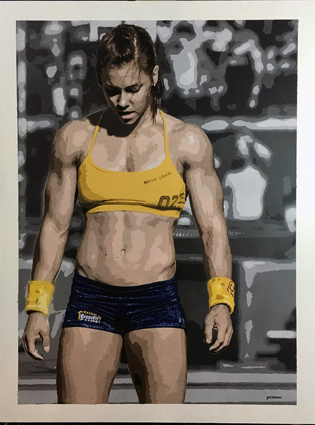 CrossFit Julie Foucher Painting.jpg