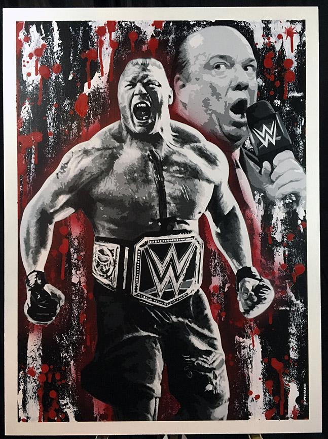 WWE Brock Lesnar Paul Heyman Painting.jpg