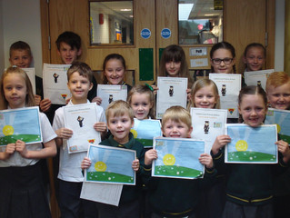 Well done to all our Superstars in Golden Book assembly today.