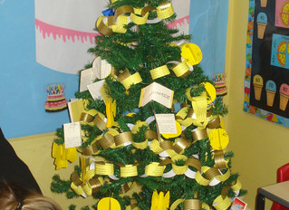 Festive House Trees