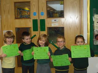 KS1 C.A.R.E Award Winners