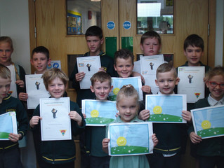 Congratulations to this week's Golden Book award winners.  Well done!