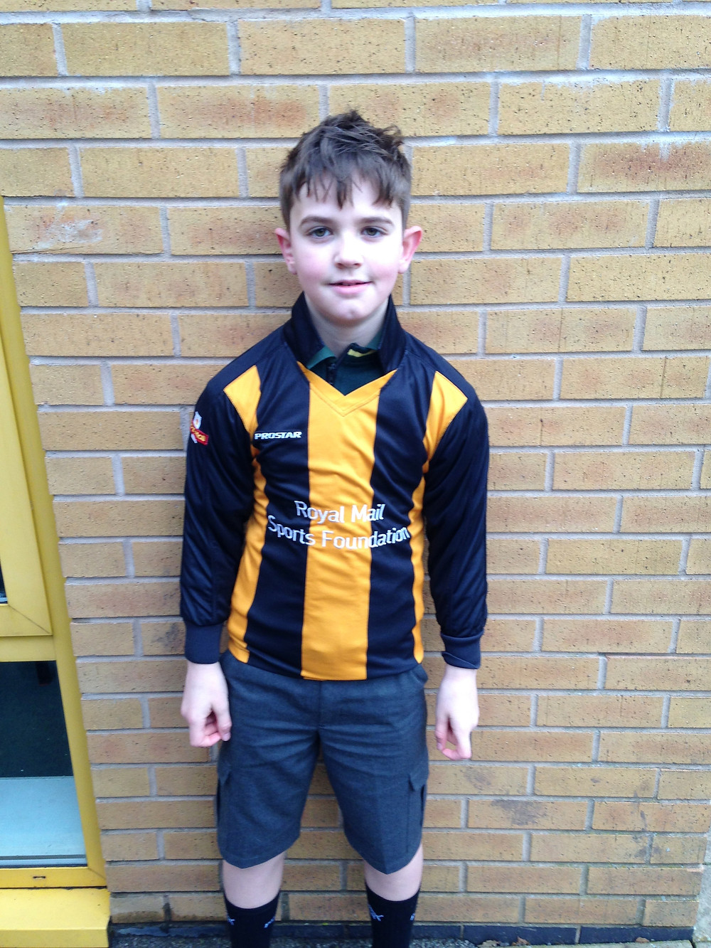 Well done to Mr Waters' football team and our man of the match on their win last night.