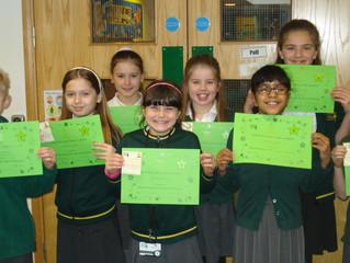 KS2 C.A.R.E Award Winners