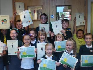 Golden Book Assembly Certificate Winners