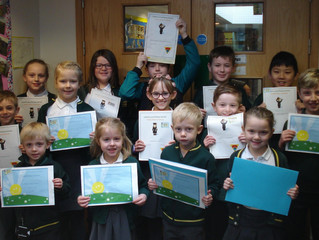 Well done to this week's Golden Book award winners.