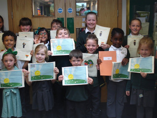 Our Golden Book Certificate Winners