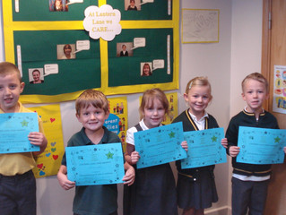KS1 CARE Certificates