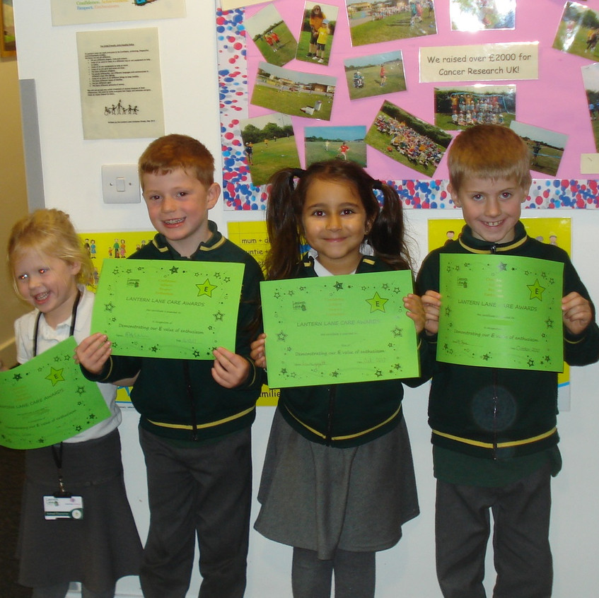 KS1 Enthusiasm