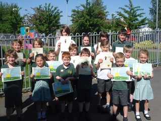 A hot and sunny Golden Book today and a photograph outside for a change!
