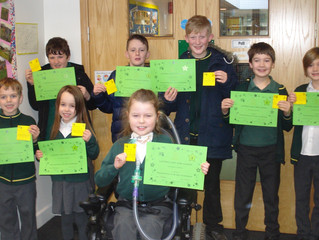 Look at our super CARE Award certificate winners.