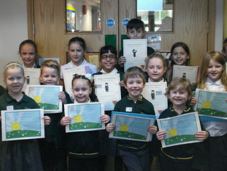 Golden Book Certificate Winners