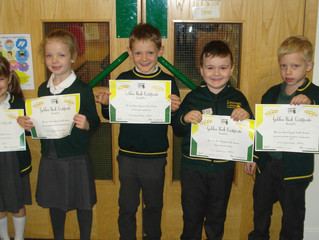 Foundation & KS1 Golden Book Assembly