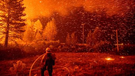 Earth on Fire - Noah Berger