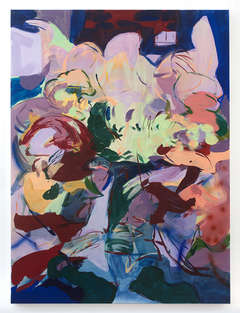 Healing Hands 2021 120x90cm pigment, acrylic binders & acrylic ink on canvas
